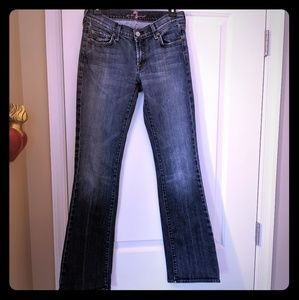 7 For All Mankind Petite Bootcut Jeans Size 28